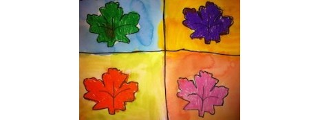 Warhol Leaves